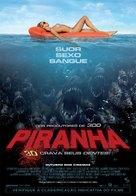 Piranha - Brazilian Movie Poster (xs thumbnail)