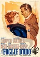 Bright Leaf - Italian Movie Poster (xs thumbnail)