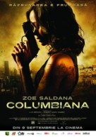 Colombiana - Romanian Movie Poster (xs thumbnail)