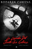 Sleepy Hollow - Argentinian DVD movie cover (xs thumbnail)