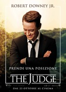 The Judge - Italian Movie Poster (xs thumbnail)