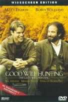 Good Will Hunting - German DVD movie cover (xs thumbnail)
