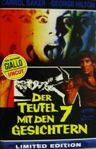 Il diavolo a sette facce - German DVD cover (xs thumbnail)