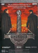 Highlander: Endgame - Australian DVD movie cover (xs thumbnail)