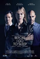 Before I Go to Sleep - British Movie Poster (xs thumbnail)