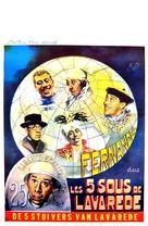 Cinq sous de Lavaréde, Les - Belgian Movie Poster (xs thumbnail)