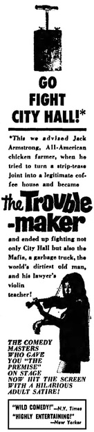 The Troublemaker - poster (xs thumbnail)