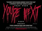 You're Next - British Movie Poster (xs thumbnail)