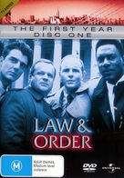 """Law & Order"" - Australian DVD movie cover (xs thumbnail)"