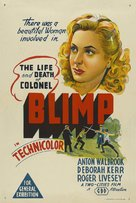 The Life and Death of Colonel Blimp - Australian Movie Poster (xs thumbnail)