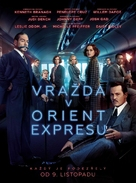 Murder on the Orient Express - Czech Movie Poster (xs thumbnail)