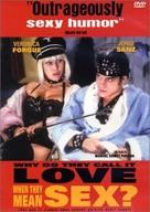 ¿Por qué lo llaman amor cuando quieren decir sexo? - DVD cover (xs thumbnail)