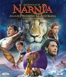 The Chronicles of Narnia: The Voyage of the Dawn Treader - Brazilian Blu-Ray cover (xs thumbnail)