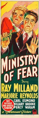 Ministry of Fear - Australian Movie Poster (xs thumbnail)