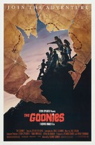 The Goonies - Theatrical poster (xs thumbnail)