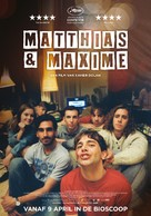 Matthias & Maxime - Dutch Movie Poster (xs thumbnail)
