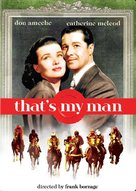 That's My Man - DVD cover (xs thumbnail)