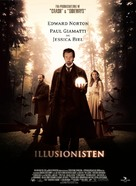 The Illusionist - Danish Movie Poster (xs thumbnail)