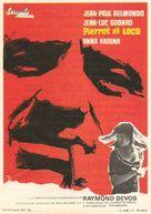 Pierrot le fou - Spanish Movie Poster (xs thumbnail)