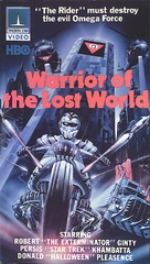 Warrior of the Lost World - VHS movie cover (xs thumbnail)