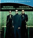 The Matrix Reloaded - Blu-Ray movie cover (xs thumbnail)