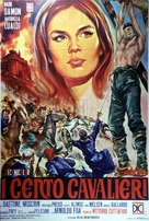 Cento cavalieri, I - Italian Movie Poster (xs thumbnail)