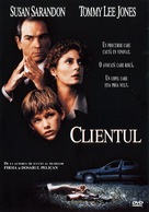 The Client - Romanian Movie Cover (xs thumbnail)