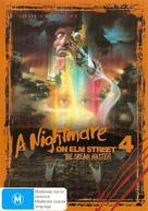 A Nightmare on Elm Street 4: The Dream Master - Australian DVD cover (xs thumbnail)