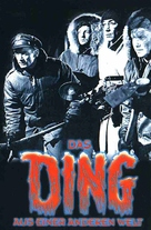 The Thing From Another World - German VHS cover (xs thumbnail)