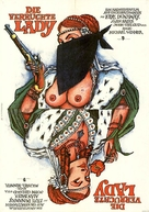 The Wicked Lady - German Movie Poster (xs thumbnail)
