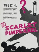 The Scarlet Pimpernel - British poster (xs thumbnail)