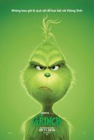 The Grinch - Vietnamese Movie Poster (xs thumbnail)