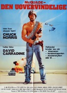 Lone Wolf McQuade - Danish Movie Poster (xs thumbnail)