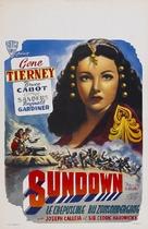 Sundown - Belgian Movie Poster (xs thumbnail)