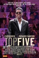 Top Five - Australian Movie Poster (xs thumbnail)
