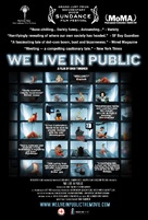 We Live in Public - Movie Poster (xs thumbnail)