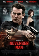 November Man - Dutch Movie Poster (xs thumbnail)
