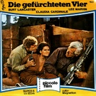 The Professionals - German Movie Cover (xs thumbnail)