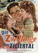 Die Zwillinge vom Zillertal - German Movie Poster (xs thumbnail)