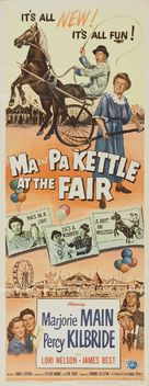 Ma and Pa Kettle at the Fair - Movie Poster (xs thumbnail)