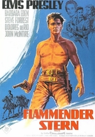 Flaming Star - German Movie Poster (xs thumbnail)