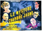 Le mystère de la chambre jaune - French Movie Poster (xs thumbnail)