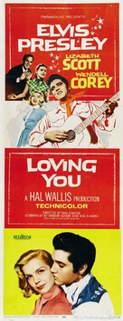 Loving You - Movie Poster (xs thumbnail)