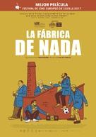 A Fábrica de Nada - Spanish Movie Poster (xs thumbnail)