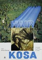 Hair - Yugoslav Movie Poster (xs thumbnail)