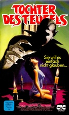 The Devil's Daughter - German VHS cover (xs thumbnail)