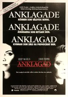 The Accused - Swedish Movie Poster (xs thumbnail)