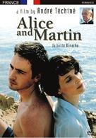 Alice et Martin - DVD movie cover (xs thumbnail)