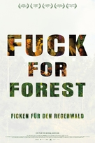 Fuck for Forest - German Movie Poster (xs thumbnail)