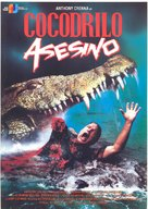 Killer Crocodile - Spanish Movie Poster (xs thumbnail)